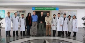 Dr, Pleatman in China